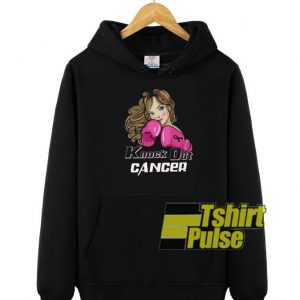 Knock Out Cancer hooded sweatshirt clothing unisex hoodie