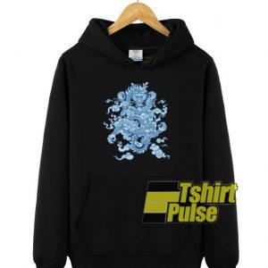 Lucky Dragon 3 hooded sweatshirt clothing unisex hoodie