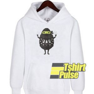 Ninjacado in Holiday hooded sweatshirt clothing unisex hoodie