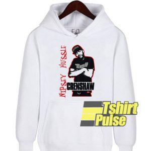 Nipsey Hussle Crenshaw hooded sweatshirt clothing unisex hoodie
