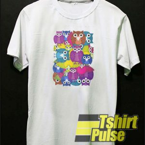 Owlish t-shirt for men and women tshirt