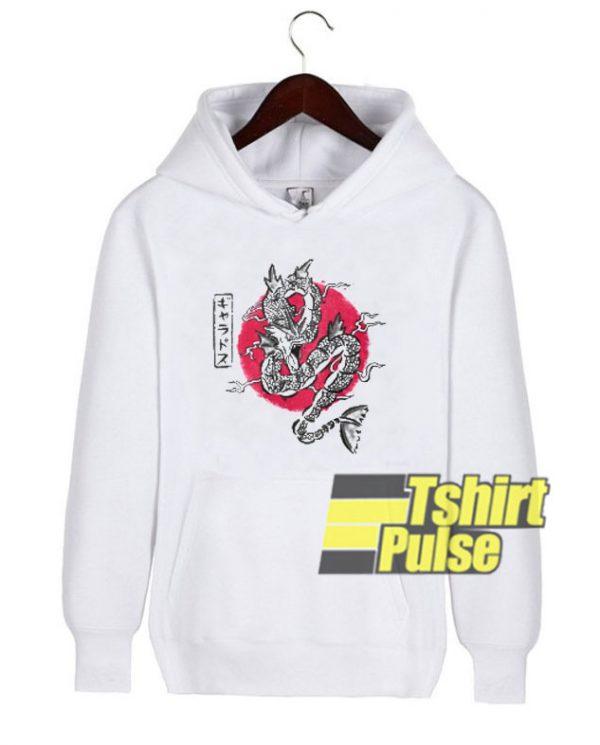 Ryu No Inku Dragon hooded sweatshirt clothing unisex hoodie