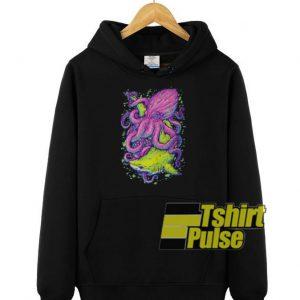 Shark vs Kraken hooded sweatshirt clothing unisex hoodie