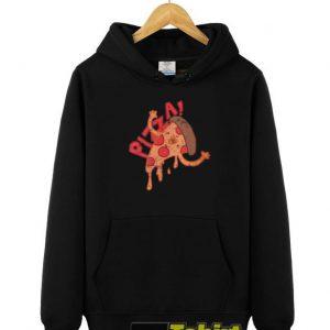Slice Of A Pizza hooded sweatshirt clothing unisex hoodie
