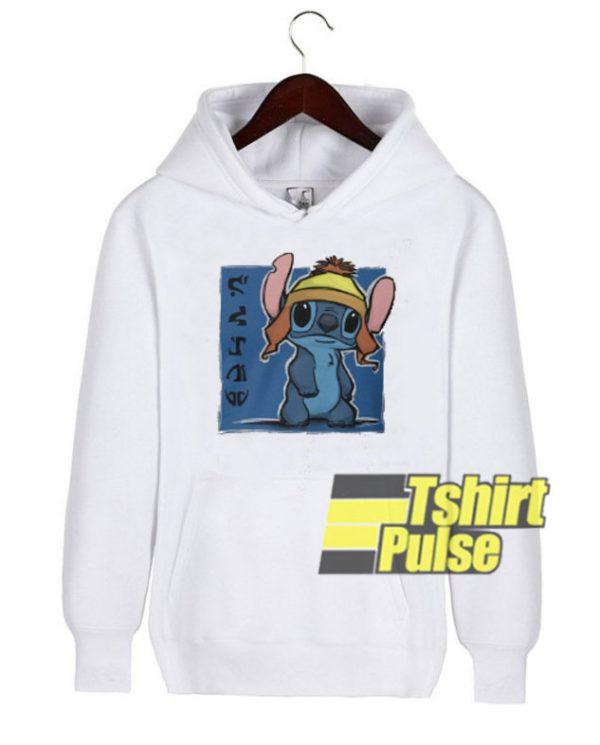 Stitch Chunning hooded sweatshirt clothing unisex hoodie