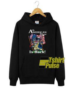 Stitch The American Dream hooded sweatshirt clothing unisex