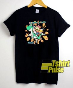 Super Mario World Super Nintendo t-shirt for men and women tshirt