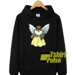 Tasmanian Devil Angel Print hooded sweatshirt clothing unisex hoodie