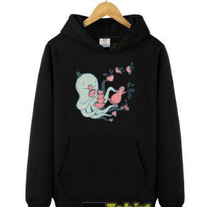 Tea and Tentacles hooded sweatshirt clothing unisex hoodie