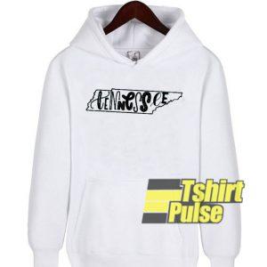 Tennessee hooded sweatshirt clothing unisex hoodie