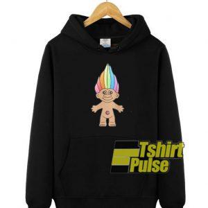 Troll Magic hooded sweatshirt clothing unisex hoodie