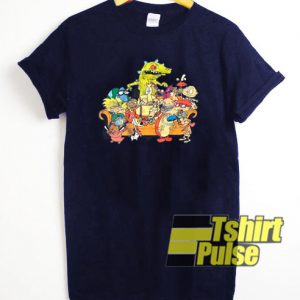 Vintage Nickelodeon Character t-shirt for men and women tshirt