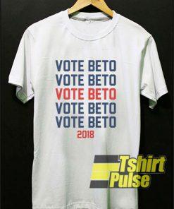 Vote For Beto For Texas t-shirt for men and women tshirt