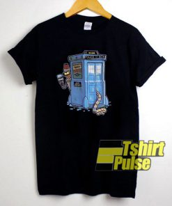 00s Futurama Doctor Who t-shirt for men and women tshirt