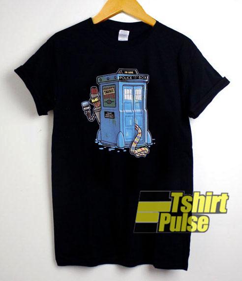 00s Futurama Doctor Who t shirt for men and women tshirt