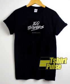 100 Thieves Heist t-shirt for men and women tshirt