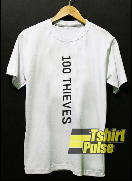 100 Thieves x Meta t-shirt for men and women tshirt