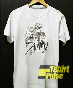 Alvvays Graphic Character t-shirt for men and women tshirt