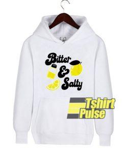 Bitter and Salty Lemon hooded sweatshirt clothing unisex hoodie