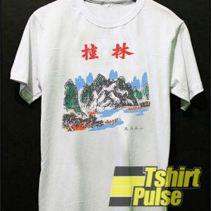 China Tourist Art t-shirt for men and women tshirt