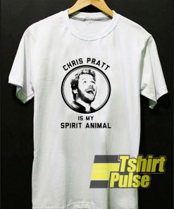 Chriss Pratt Is My Spirit Animal t-shirt for men and women tshirt