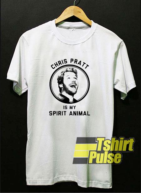Chriss Pratt Is My Spirit Animal t-shirt for men and women tshirt