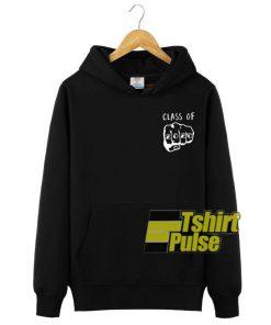 Class of 2020 Black hooded sweatshirt clothing unisex hoodie