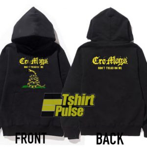 Cro Mags Dont Tread On Me hooded sweatshirt clothing unisex hoodie
