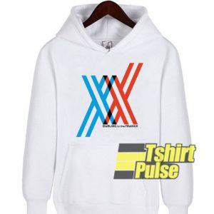 Darling In The Franxx Logo hooded sweatshirt clothing unisex hoodie