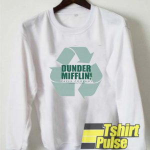Dunder Mifflin Recycle Logo sweatshirt