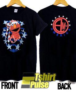 Elmo America t-shirt for men and women tshirt