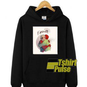 Farewell Stan Lee Hug Spiderman hooded sweatshirt clothing unisex hoodie