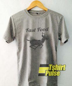 Fast Food Deer t-shirt for men and women tshirt