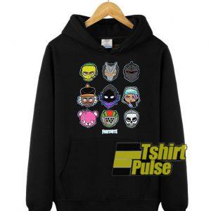 Fortnite Chibi Character hooded sweatshirt clothing unisex hoodie