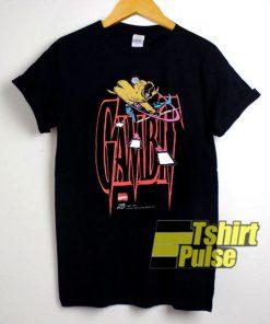 Gambit Cartoon Art t-shirt for men and women tshirt