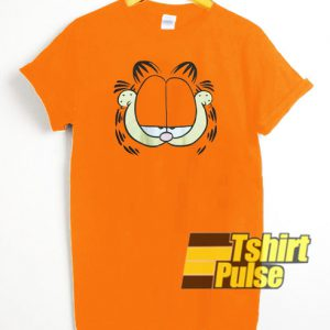 Garfield Face Graphic t-shirt for men and women tshirt