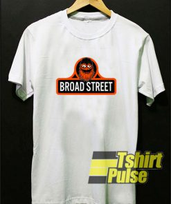 Gritty Mascot Broad Street t-shirt for men and women tshirt