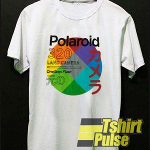 Japanese Polaroid Land Camera t-shirt for men and women tshirt