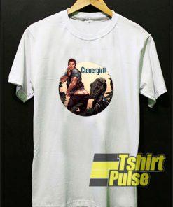 Jurassic Park World Clever Girl Chriss Pratt t-shirt for men and women tshirt