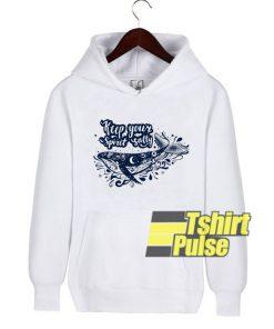 Keep Your Spirit Salty hooded sweatshirt clothing unisex hoodie