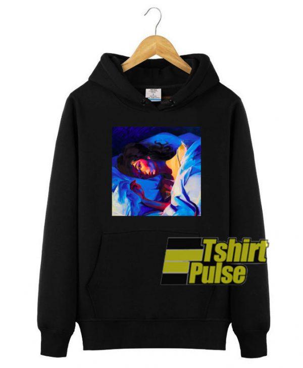 Lorde's Melodrama Album Art hooded sweatshirt clothing unisex hoodie