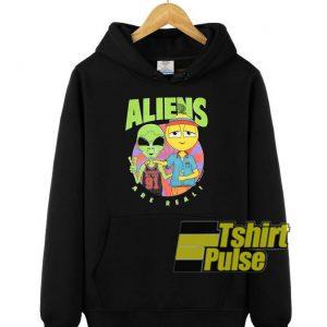 Lyrical Lemonade Aliens Are Reali hooded sweatshirt clothing unisex hoodie