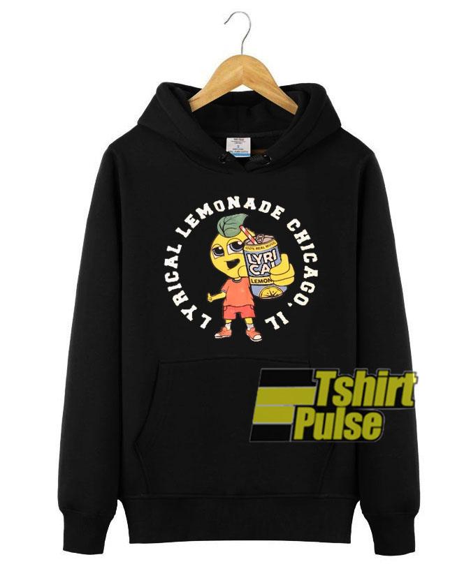 Lyrical Lemonade Green Lemon hooded sweatshirt clothing unisex