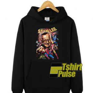 Marvel A Tribute To Stan Lee hooded sweatshirt clothing unisex hoodie