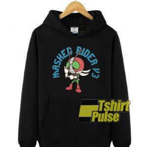 Masked Rider V3 hooded sweatshirt clothing unisex hoodie