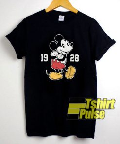 Mickey Mouse 1928 t-shirt for men and women tshirt