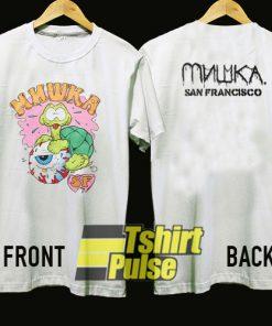 Mishka Kozik Crazy Turtle n Eyeball t-shirt for men and women tshirt