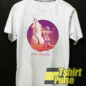 Moonshot Rocket t t-shirt for men and women tshirt