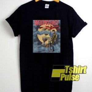 Moonshot Steampunk Art t-shirt for men and women tshirt
