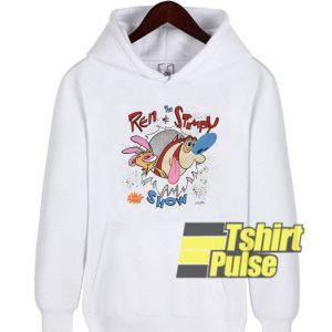 Nickelodeon Ren and Stimpy hooded sweatshirt clothing unisex hoodie
